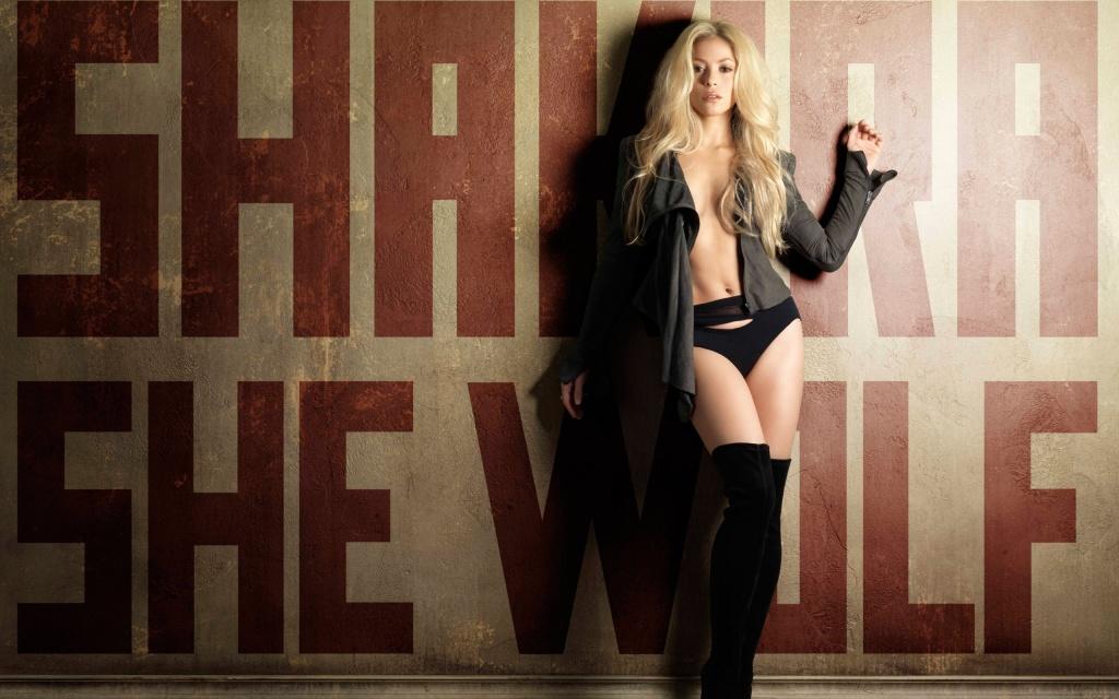 Shakira She Wolf HD wallpaper HD Wallpapers 1024x640