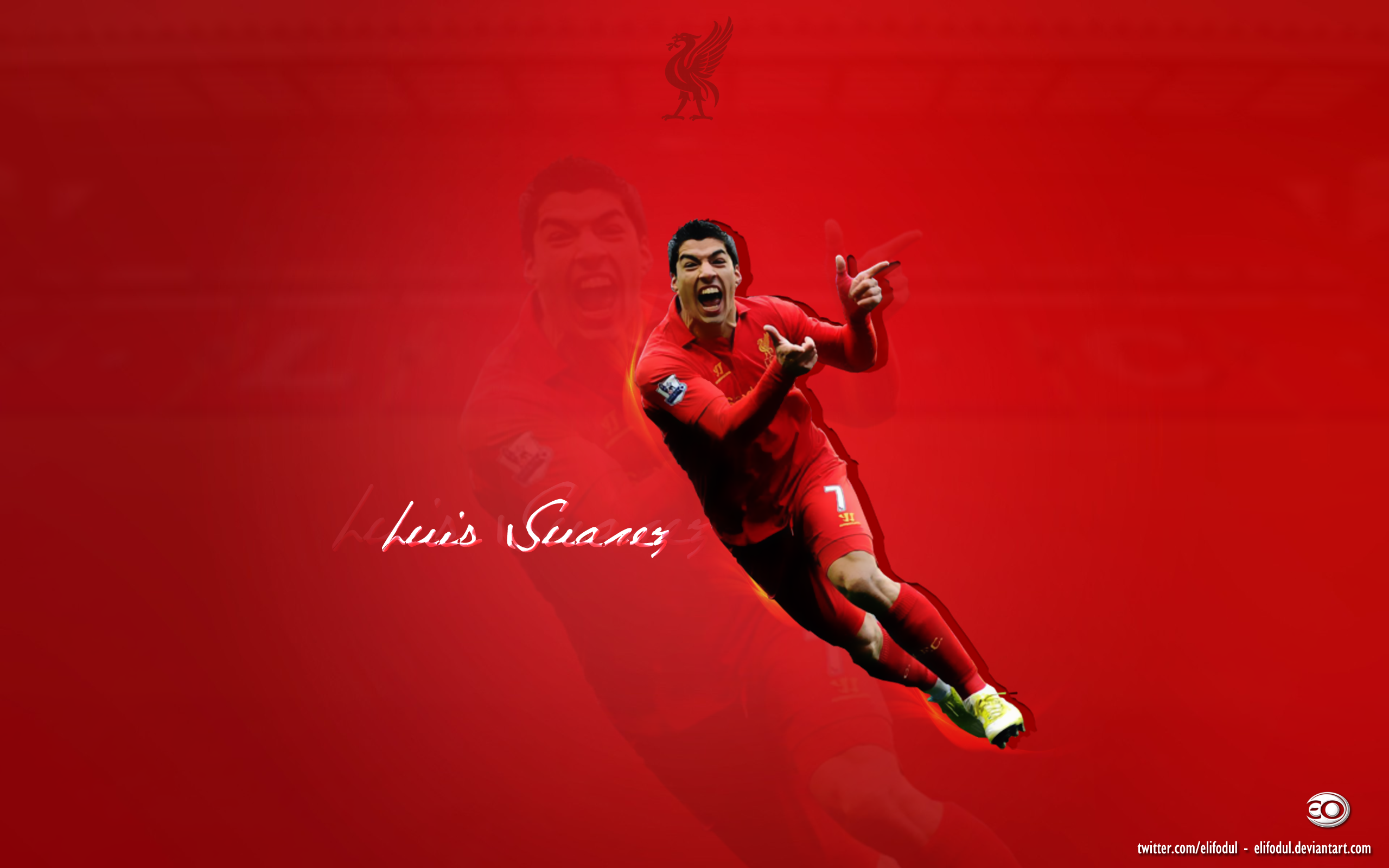 Luis Suarez Wallpaper by elifodul 2560x1600