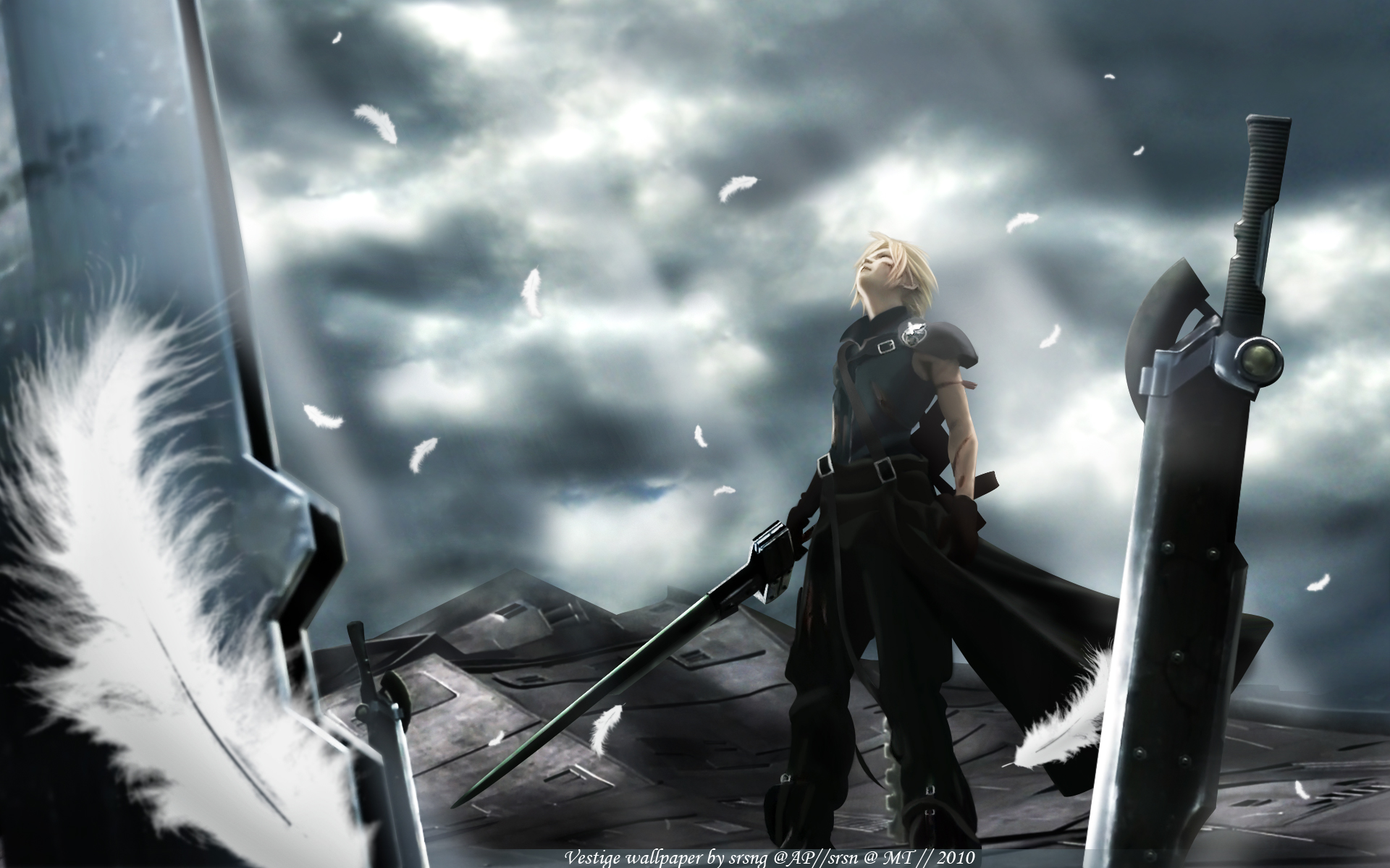 Final Fantasy VII Advent Children desktop wallpaper 1920x1200