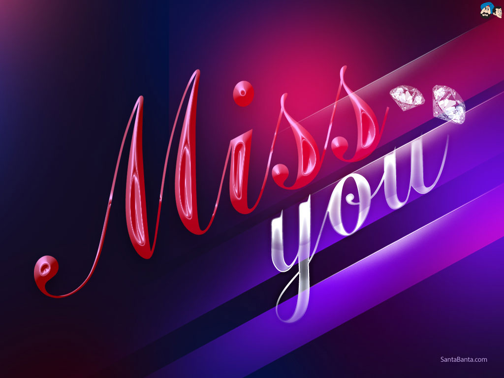 GALLERY I Miss You Wallpapers For Faceboo 1024x768