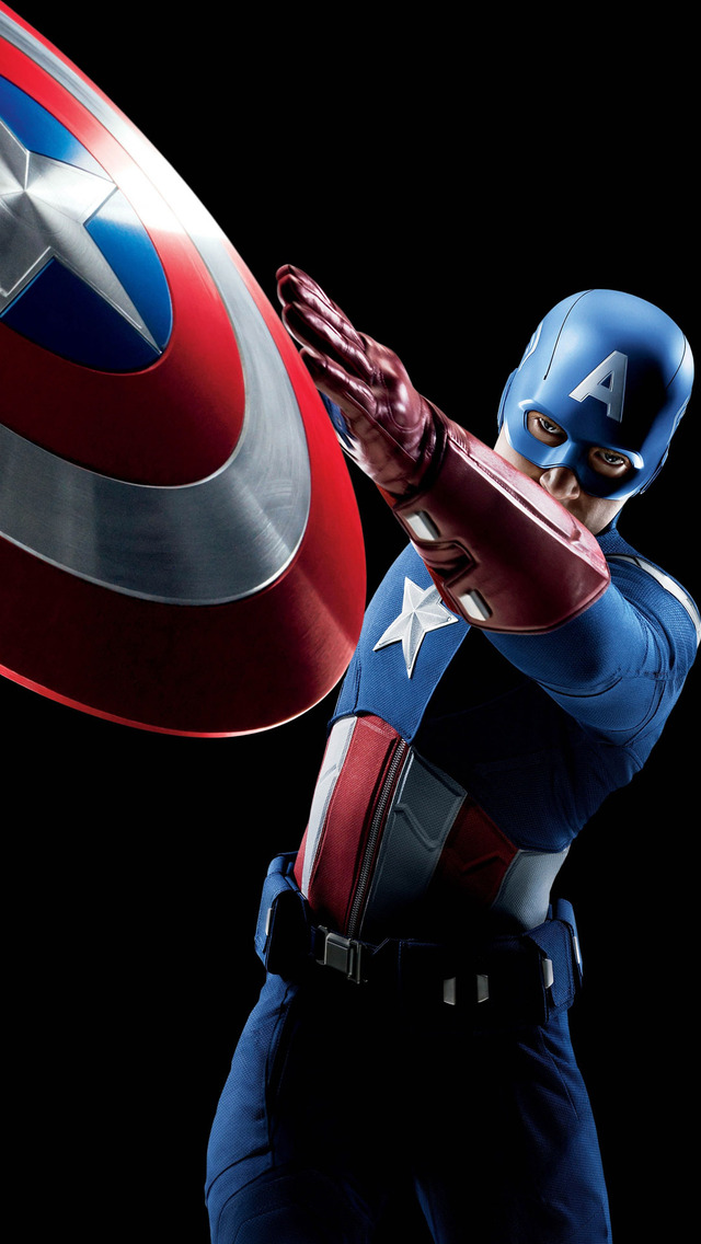Captain america mobile wallpaper wallpapersafari - Captain america hd mobile wallpaper ...