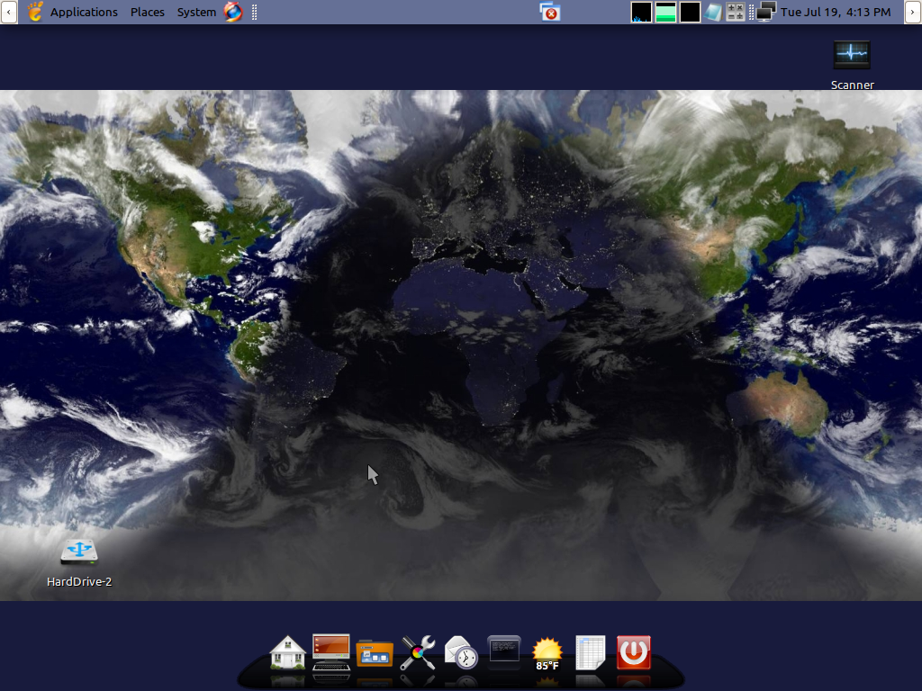 Free Download Bits Bytes Live Earth Wallpaper For Your