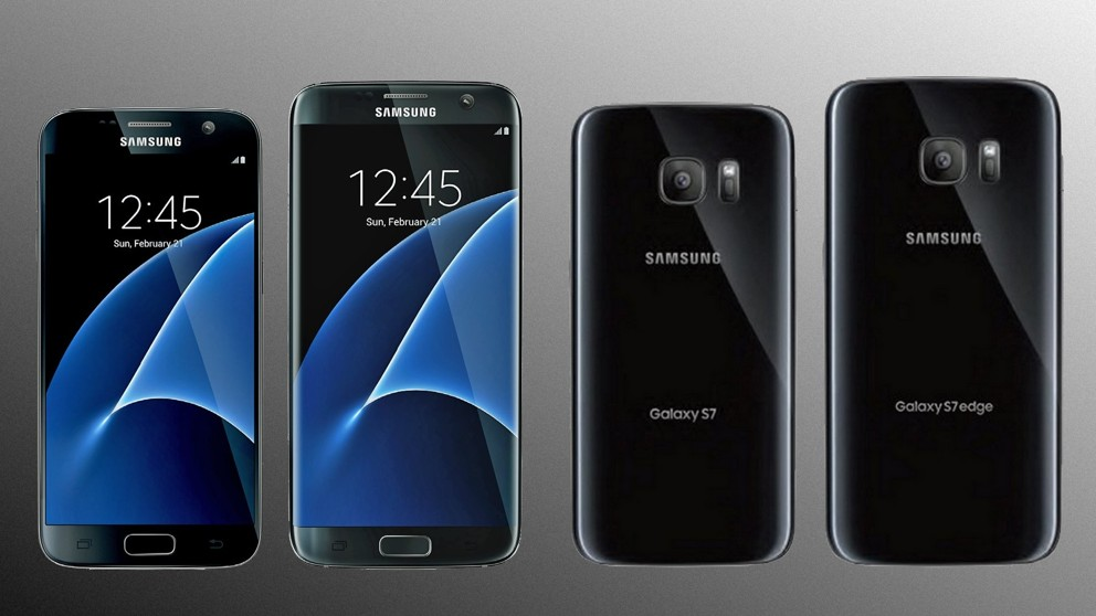Samsung Galaxy S7 Bild von der Seite Always On Display Wallpapers 992x558