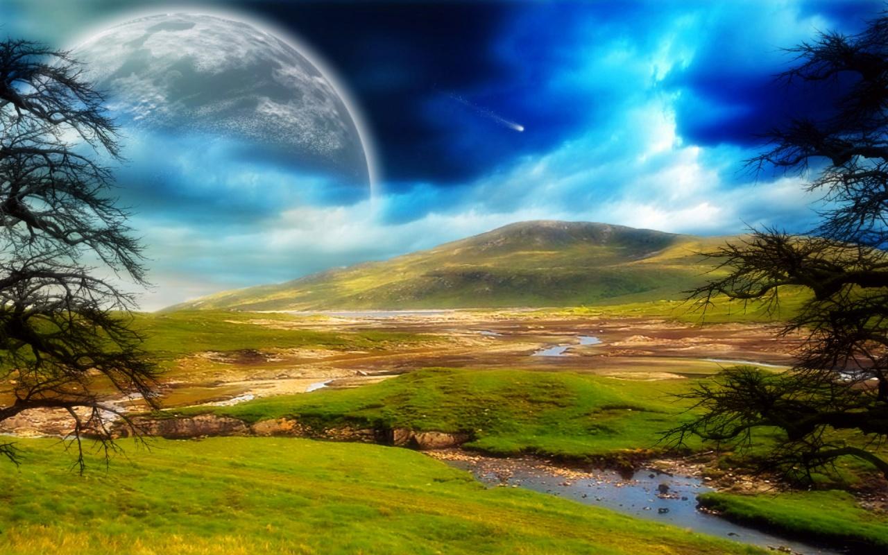 New Art Funny Wallpapers Jokes Dreamy World Fantasy Wallpapers 3D 1280x800