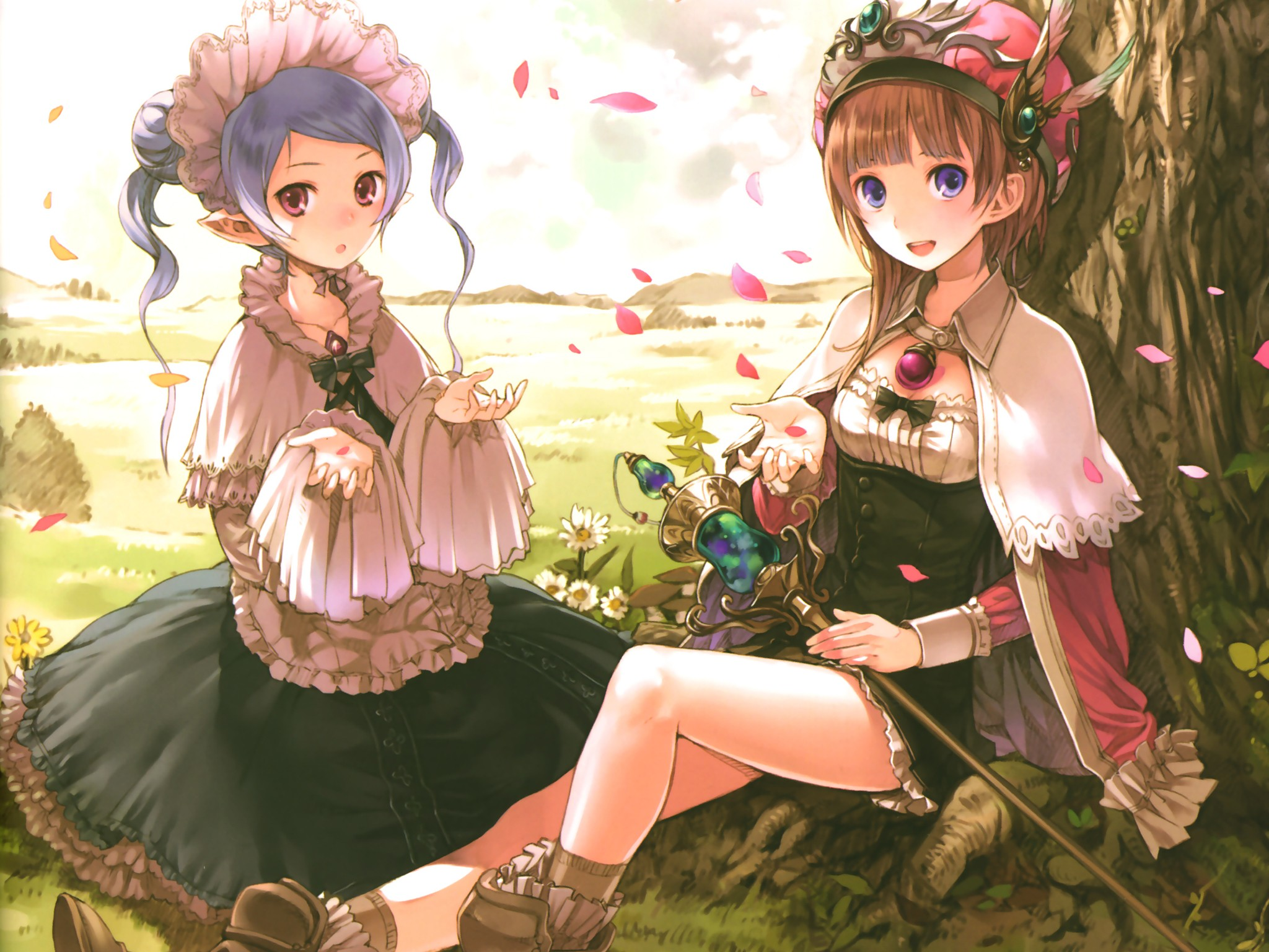 atelier rorona hom kishida mel rororina fryxell g wallpaper background 2048x1536