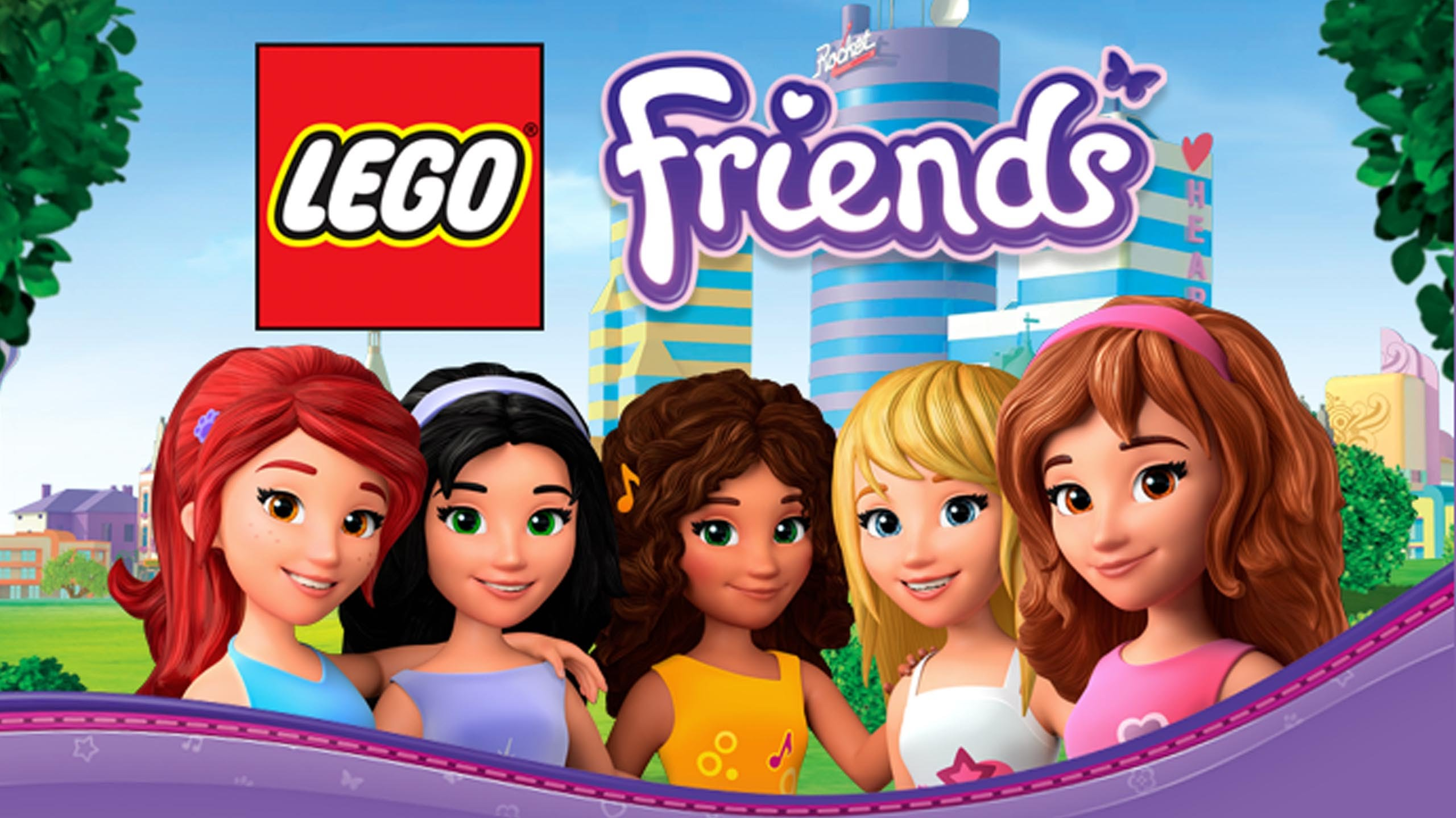 LEGO Friends TOP 1000000 NEWW HOT 2014 2560x1440