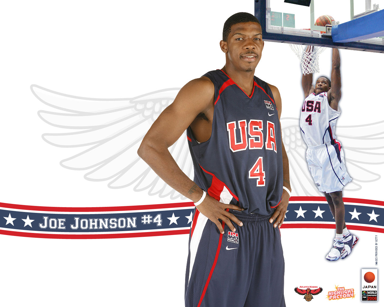 Joe Johnson Dream team Wallpaper Basketball Wallpapers 1280x1024