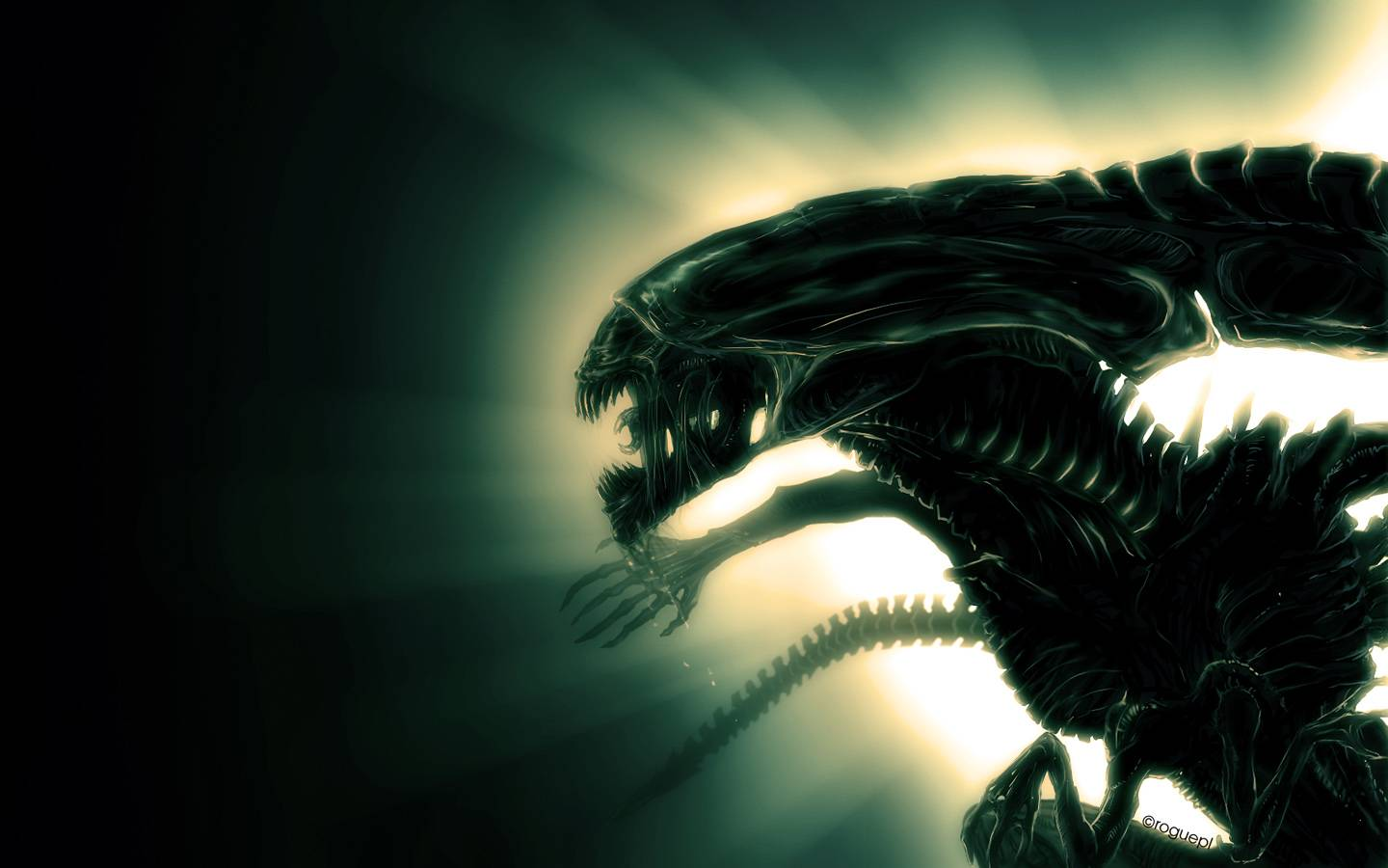 Aliens   Alien Wallpaper 1440x900