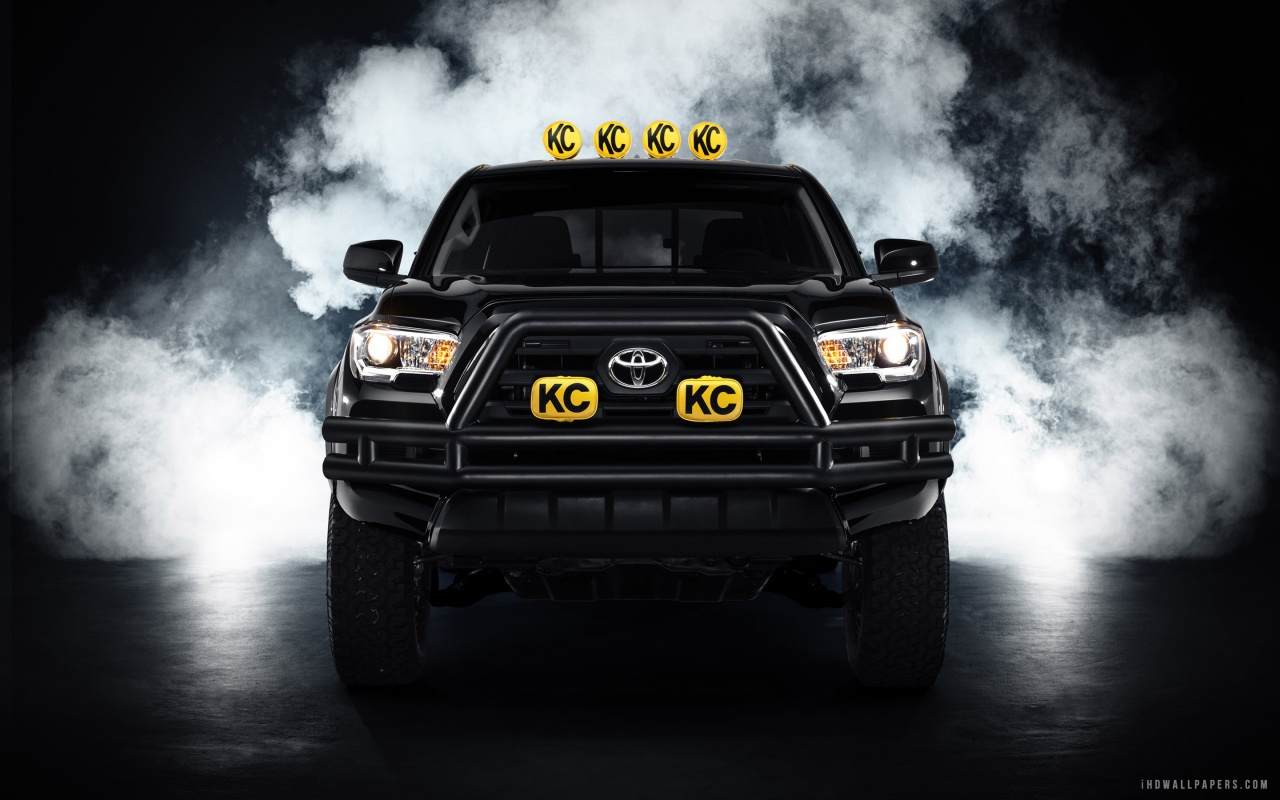 Toyota Tacoma Back To The Future Concept HD Wallpaper   iHD Wallpapers 1280x800