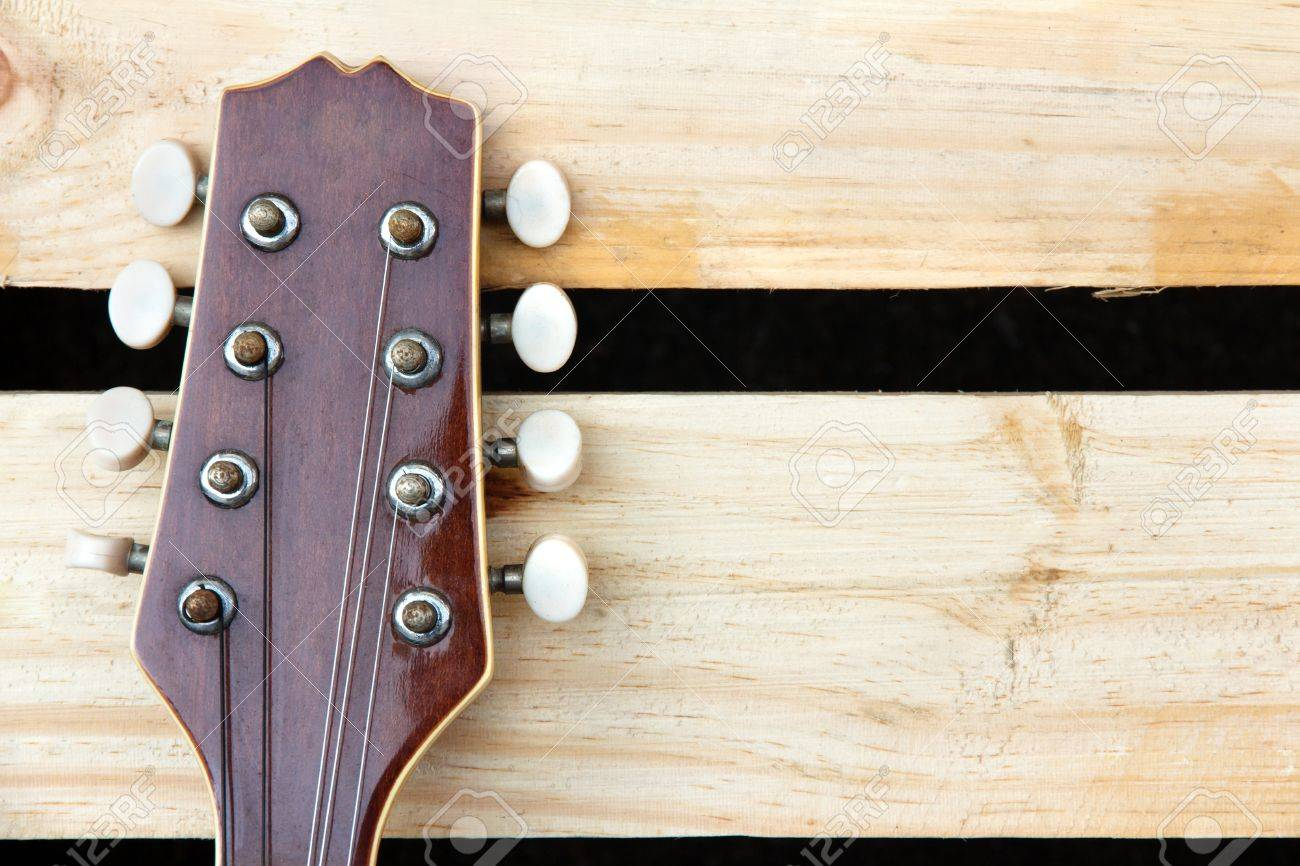 Mandolin Headstock Background Stock Photo Picture And Royalty 1300x866