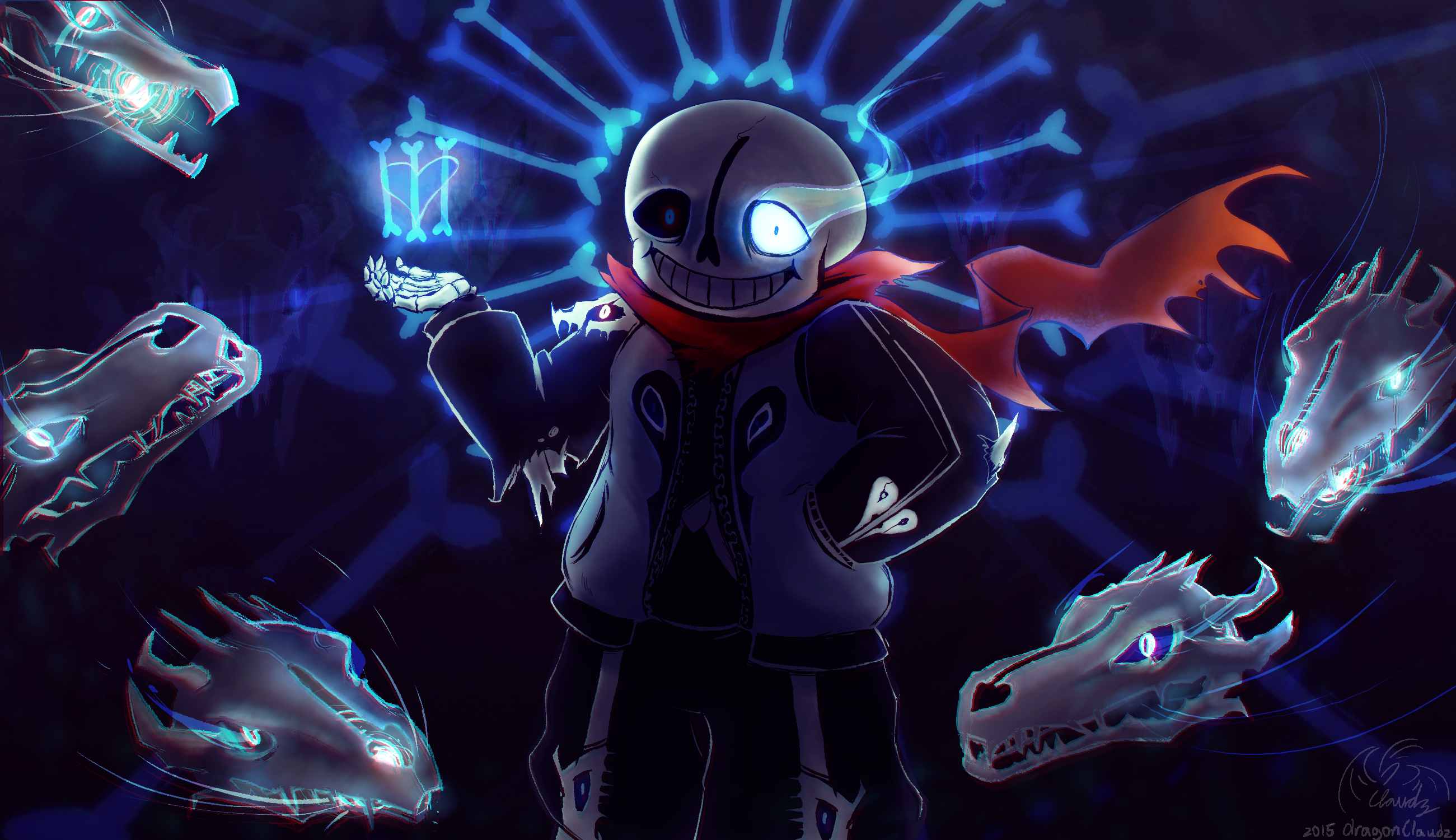 Sans Boss Battle Undertale OST Extended Seamless 2601x1500