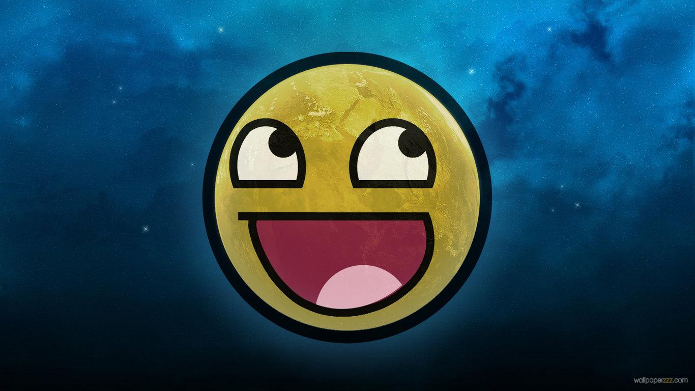 HD Smiley Face Wallpaper