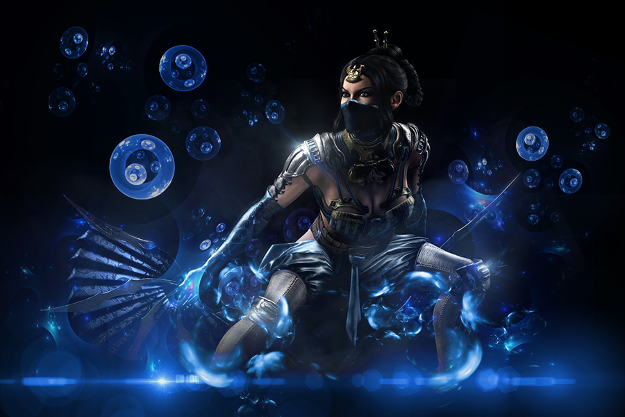 Kitana   MKX Wallpaper by yayaartpop 900x600