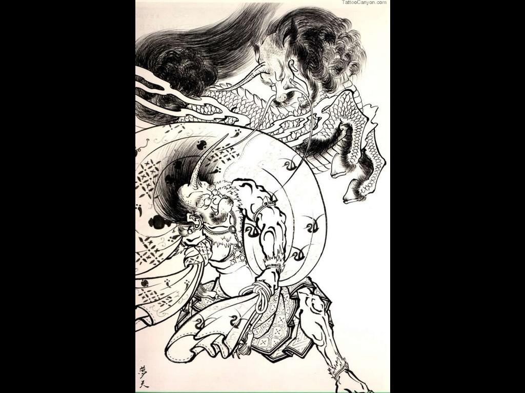 Japanese Tattoo Art Wallpaper Japanese tattoo 215259 0355 1024x768