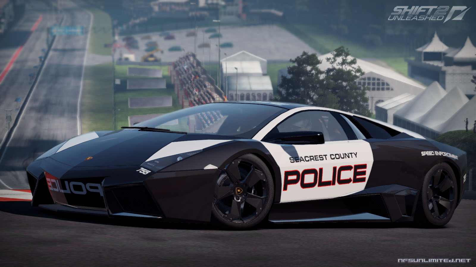 Lamborghini Reventon Police Car wallpaper - ForWallpaper.com