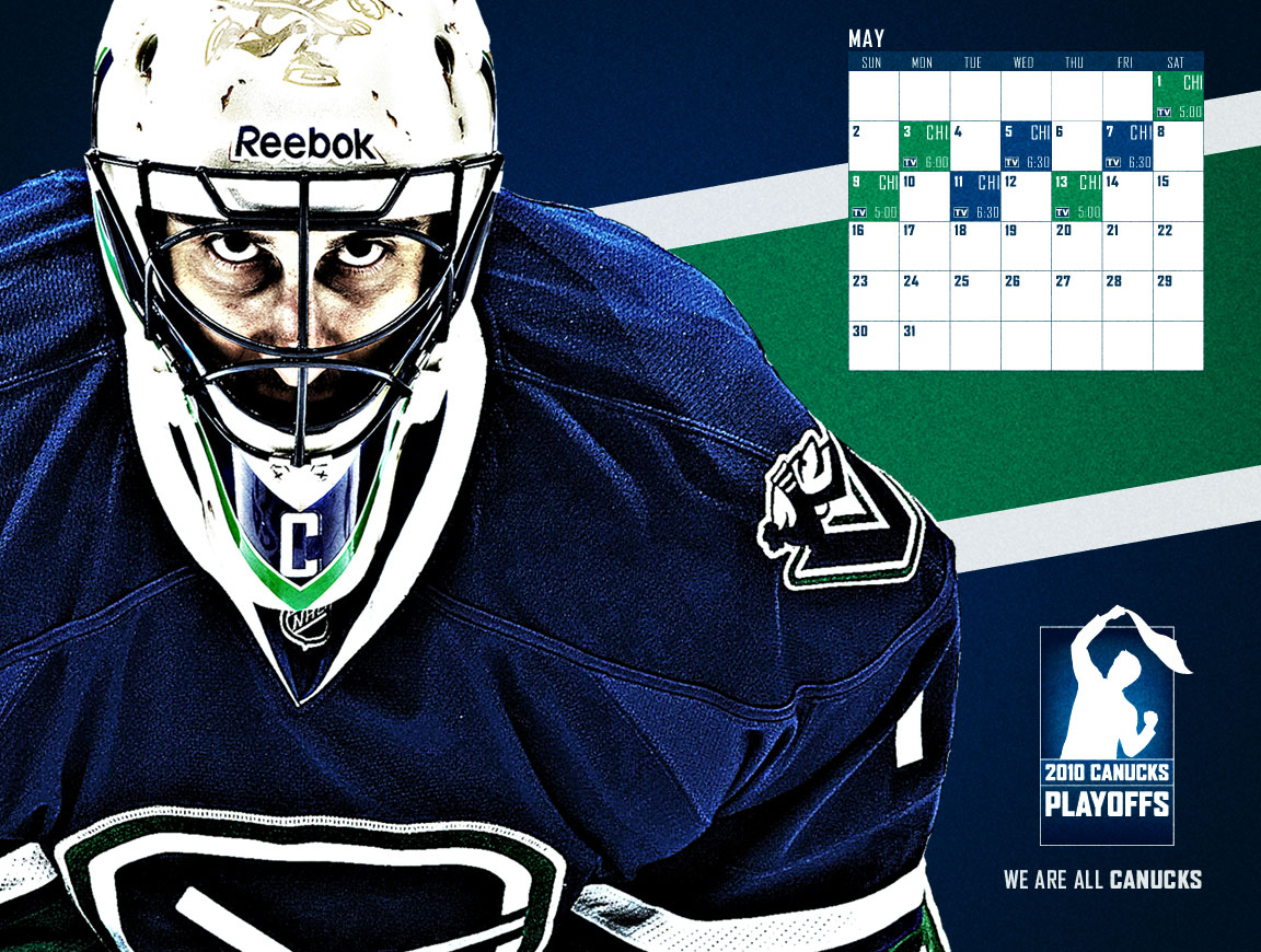 Wallpapers Archive 2009 10   Vancouver Canucks   Multimedia 1152x870