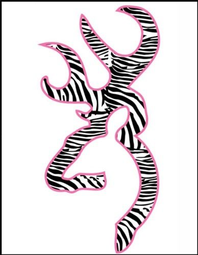 Zebra print browning symbol Iphone wallpapers 44s 388x500