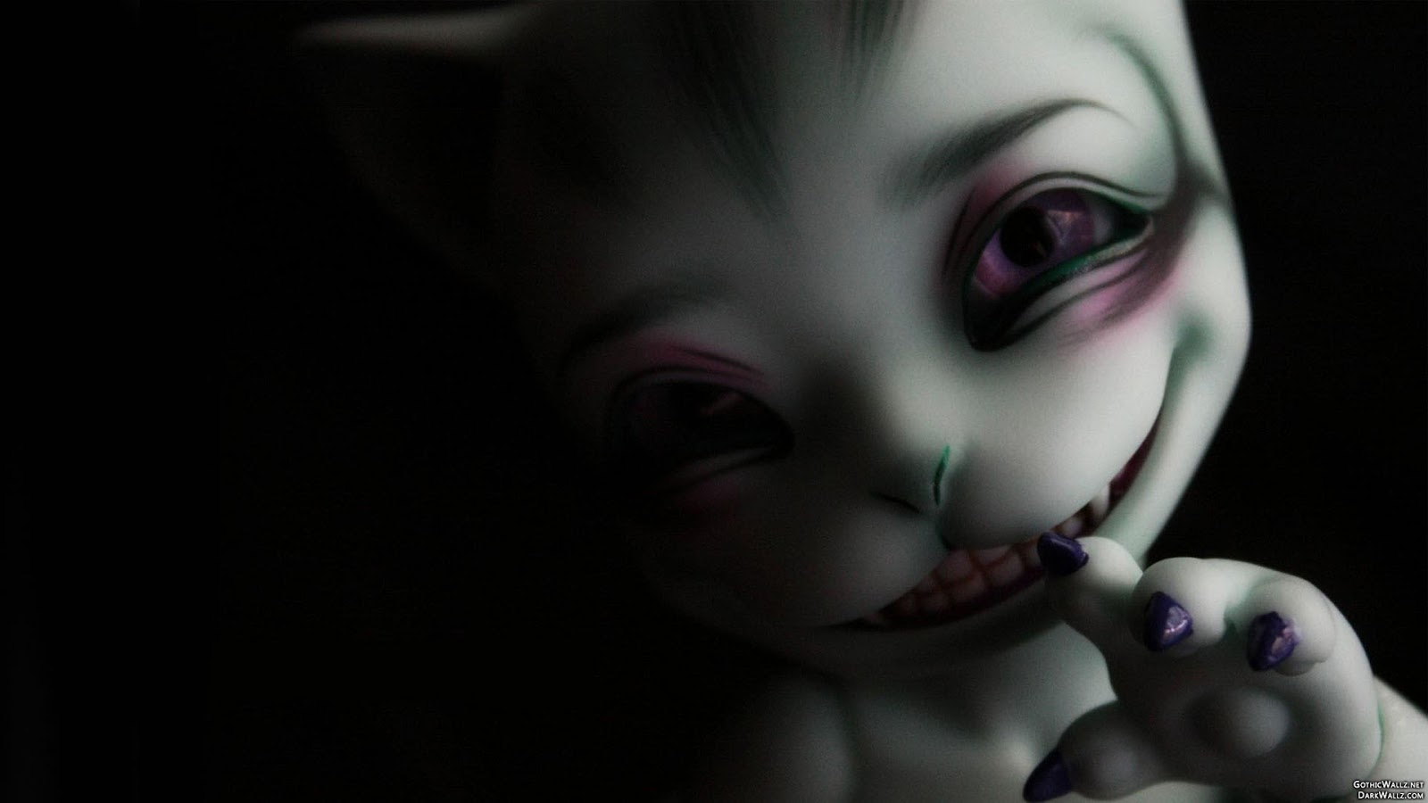 Scary weird creepy creature Wallpaper Dark Wallpapers High Quality 1600x900