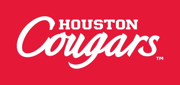Houston Cougars 2012 Pres Wordmark LogoIron On Sticker Heat Transfer 572x270