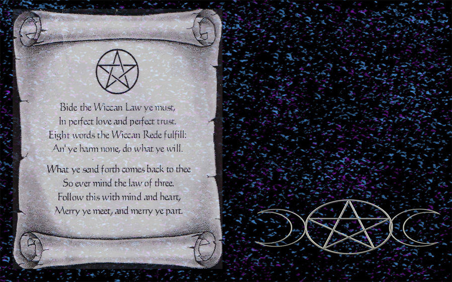 Showing Gallery For Wiccan Rede Wallpaper 900x563