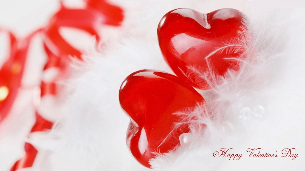 Image Valentines Day Beautiful Hearts Wallpaper Valentines Day 1024x576