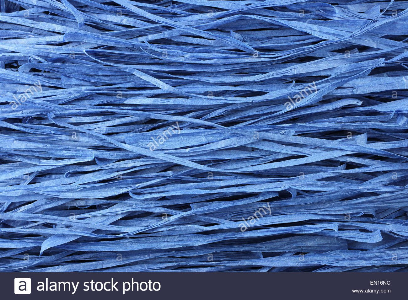 Background   blue paper raffia strips situated in parallel lines 1300x956
