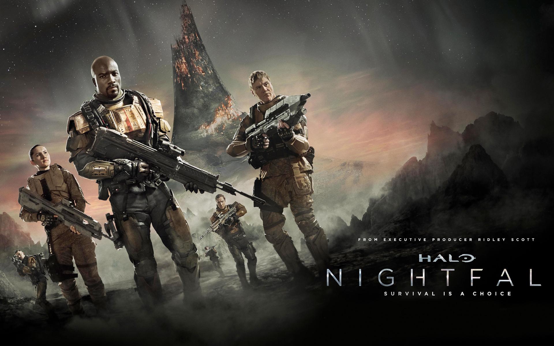 Halo Nightfall TV Series Wallpapers HD Wallpapers 1920x1200
