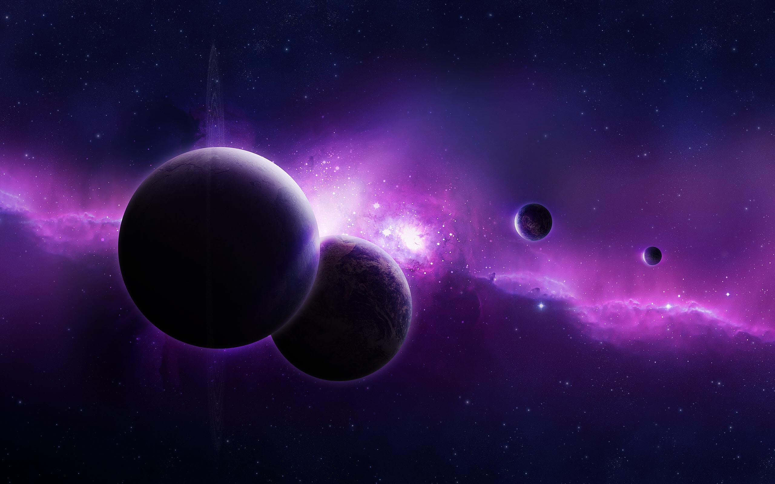 Purple Universe Wallpapers HD Wallpapers 2560x1600