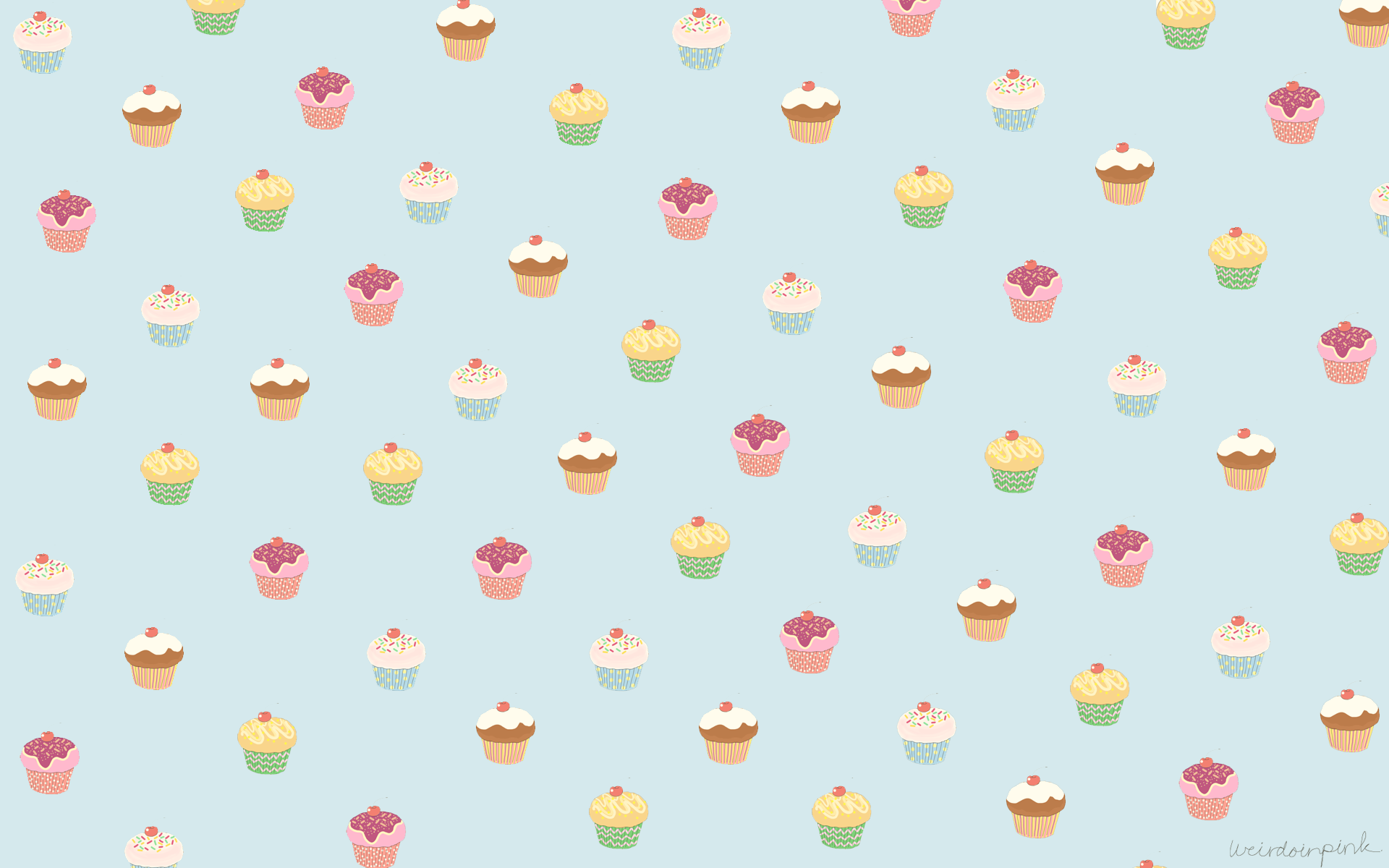 Pink Cupcake Wallpaper 31838 HD Desktop Backgrounds and Widescreen 1920x1200