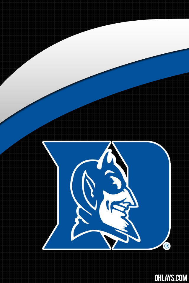 Duke Logo Wallpaper Duke blue devils iphone 640x960