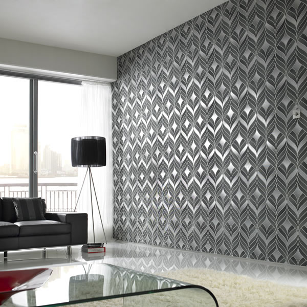 Home Design 3d Gold: Metallic Wallpaper For Home