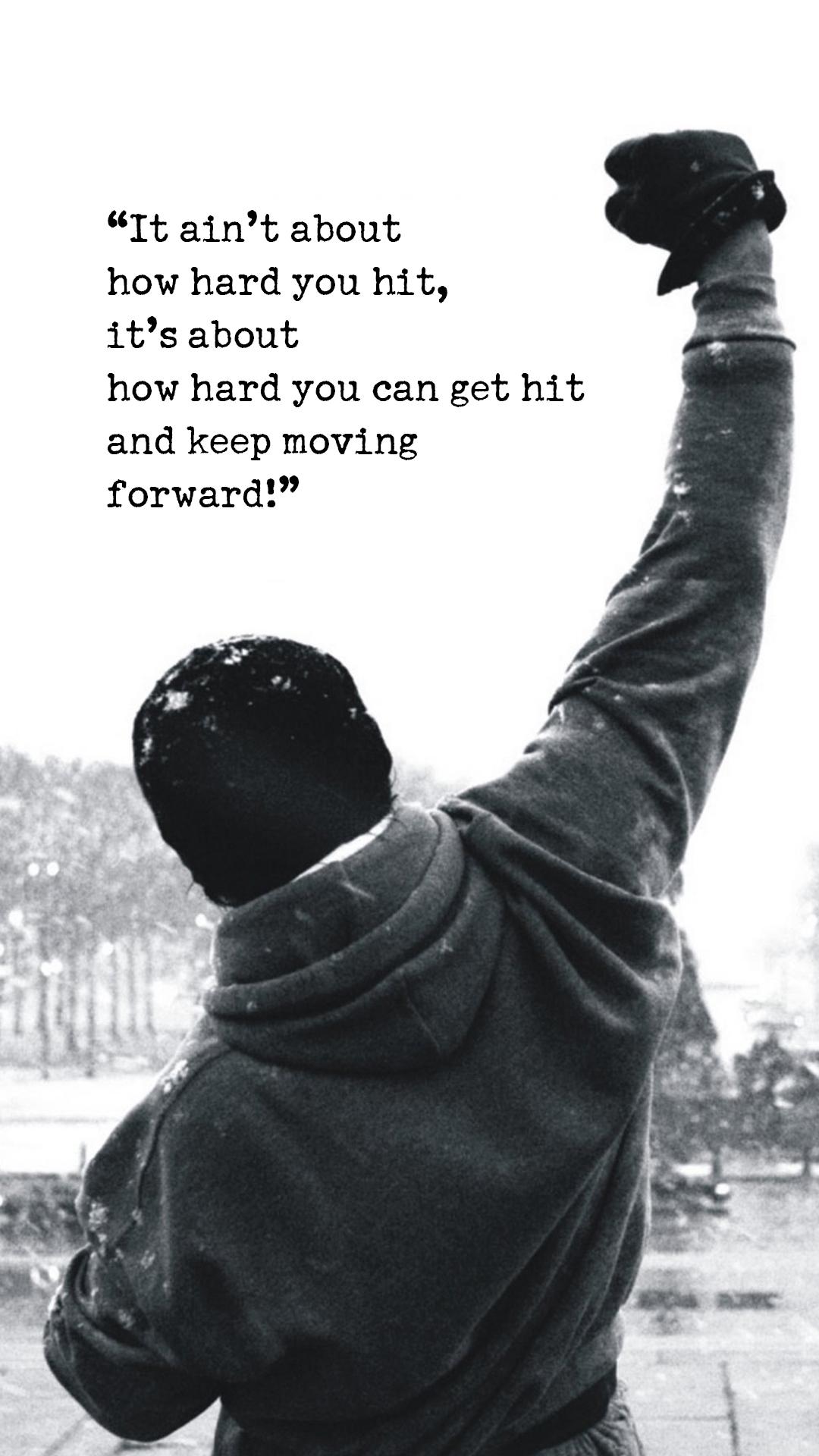 Rocky Balboa Motivational Words iPhone 6 Plus HD Wallpaper HD 1080x1920