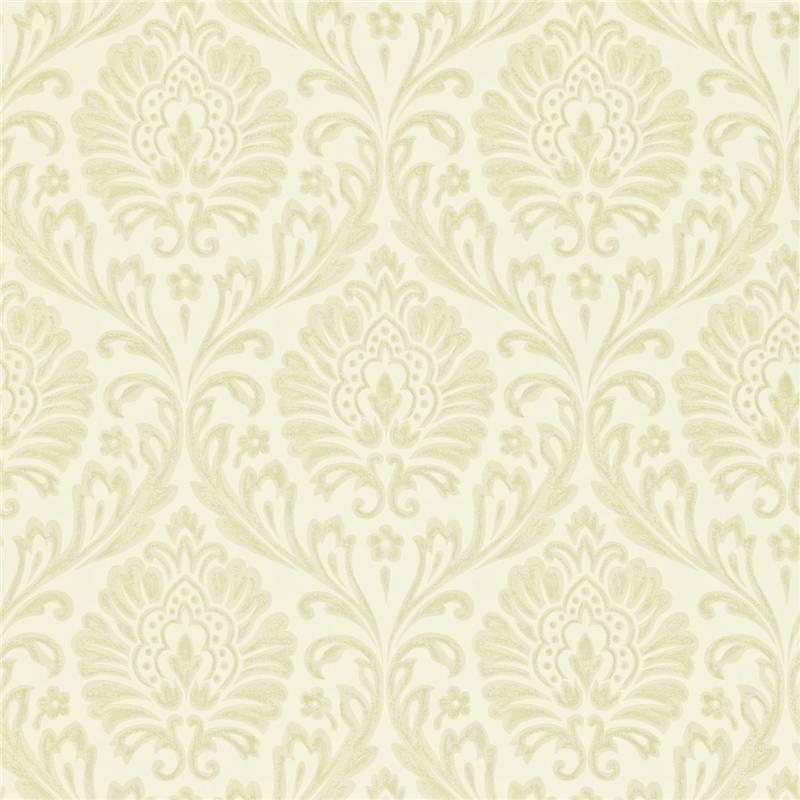 Ivory Silver   212002   Ashby Damask   Maycott   Sanderson Wallpaper 800x800
