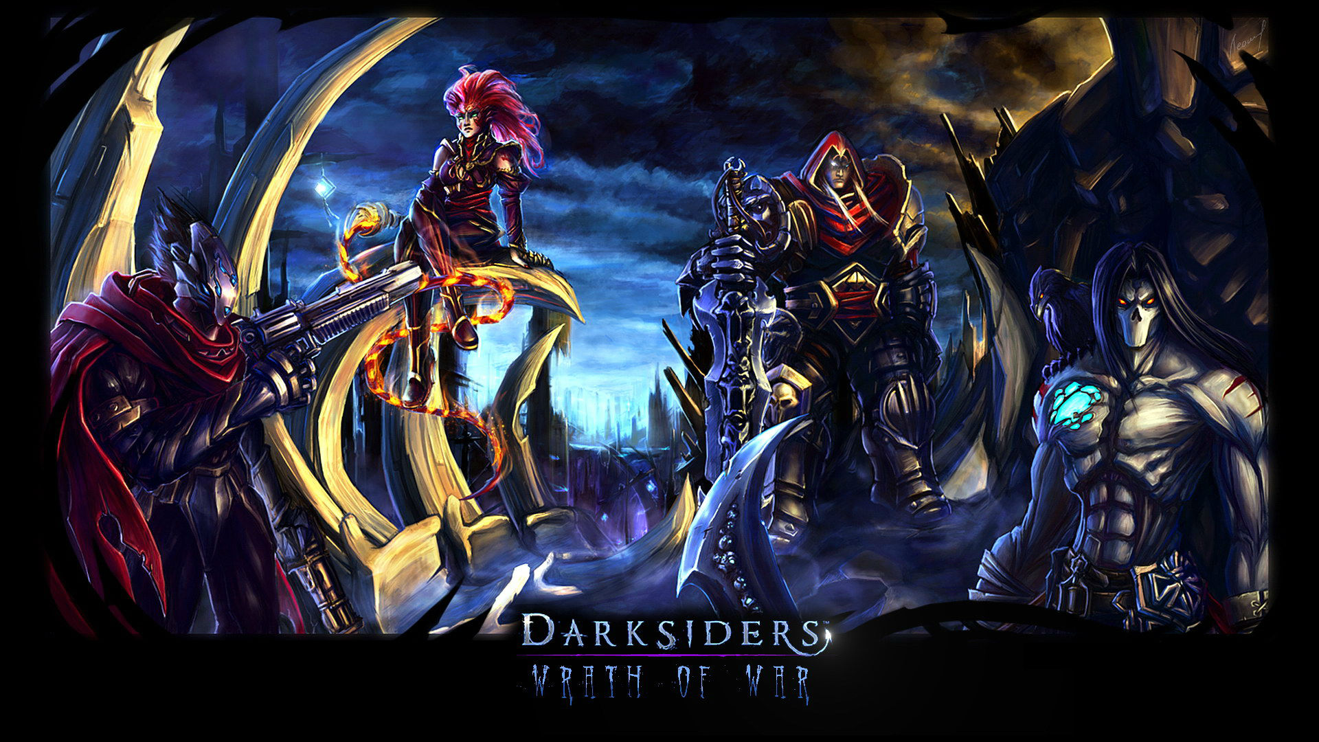 Some Sweet Darksiders Wallpapers   Darksiders Dungeon 1920x1080
