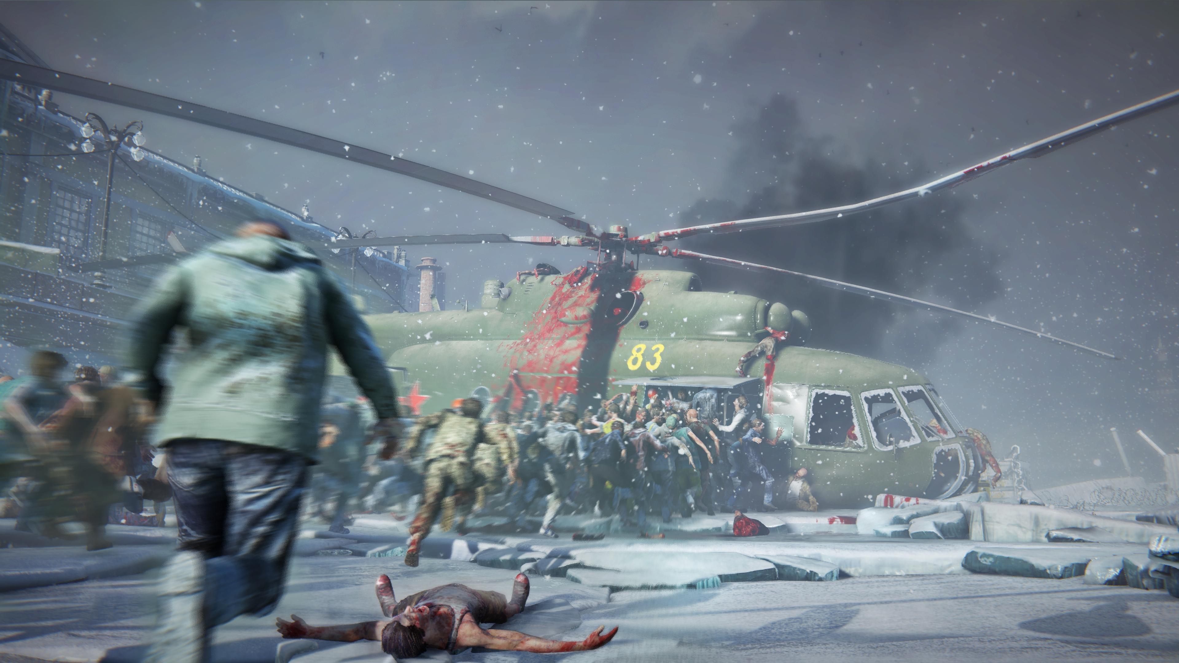 World War Z Zombies Attack 4K 4450 3840x2160