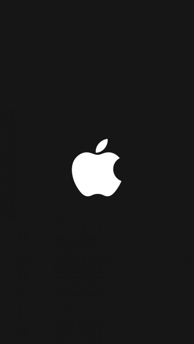 download BWquenalbertini Apple Logo iPhone Wallpaper iPhone 6 640x1136