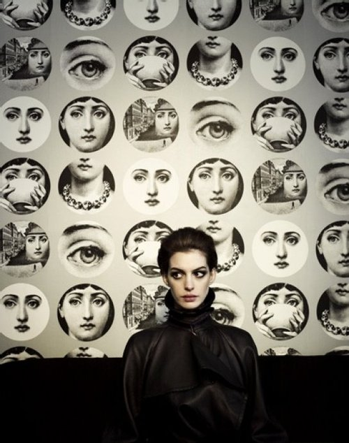 Great Image of Ann Fornasetti wallpaper can be found at Lee Jofa 500x634