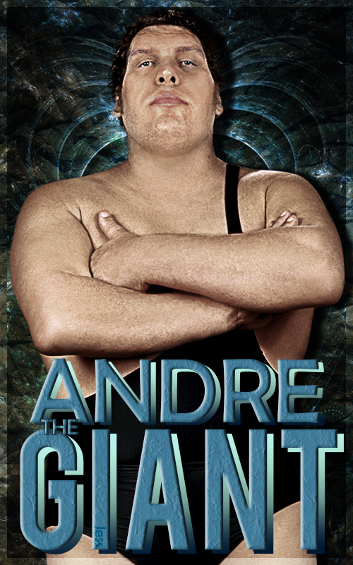 Andre The Giant Poster by ItzJess 500x800