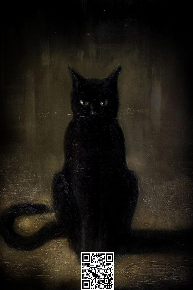 wallpaper Cute Cat Horror Hd with size 640x960 pixels for iPhone 640x960