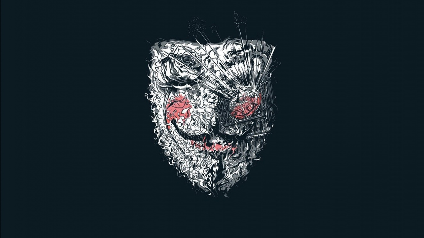 Free Download Anonymous V For Vendetta Artwork Wallpapers 1366x768