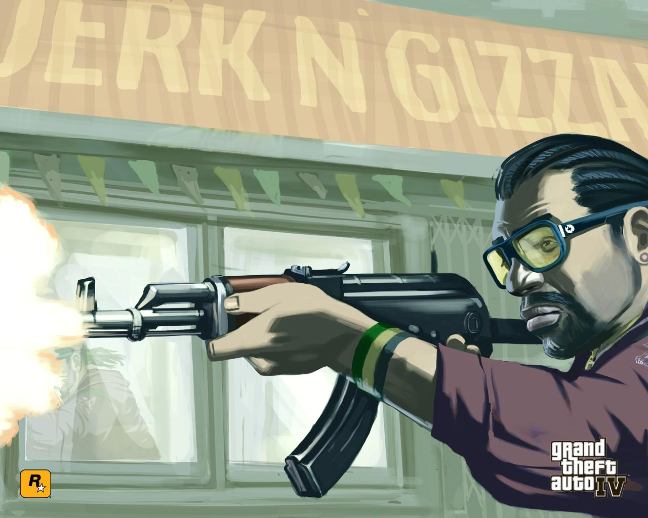 Grand Theft Auto IV Wallpapers   GameHipe 1280x1024