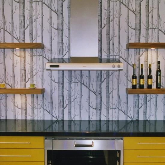 Download Modern Yellow And Grey Kitchen Kitchen Wallpaper Ideas
