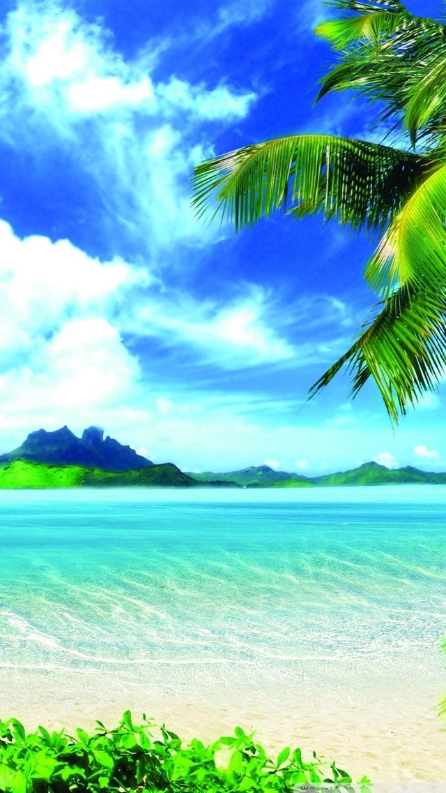 Beach Wallpaper for iPhone 5 - WallpaperSafari