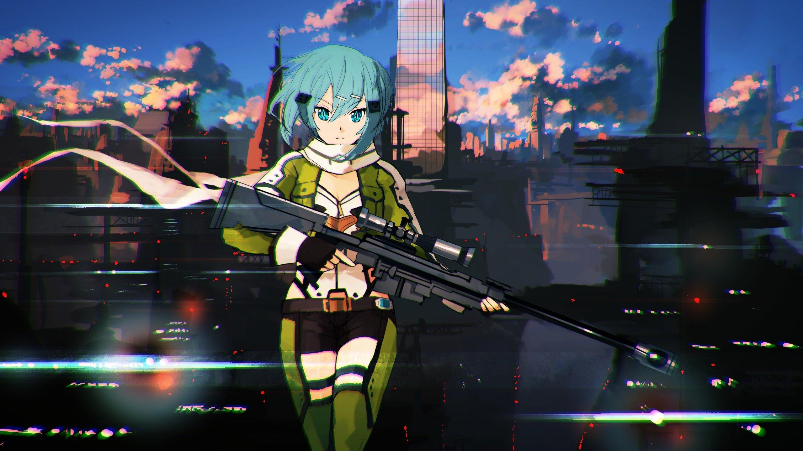 Fotos   Sao Gun Gale Online Ggo Hd Wallpaper 1920x1080 2560x1440
