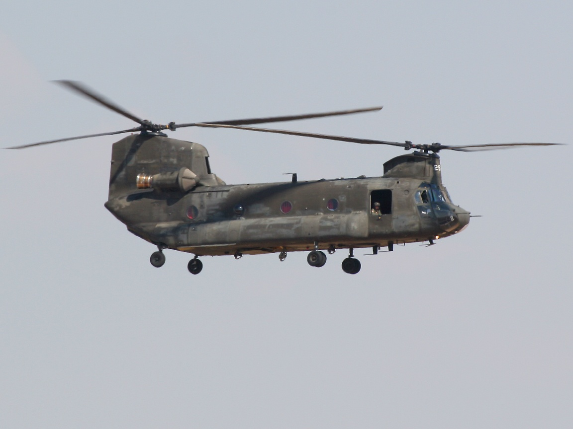 American Military Helicopter Wallpaper 1152x864