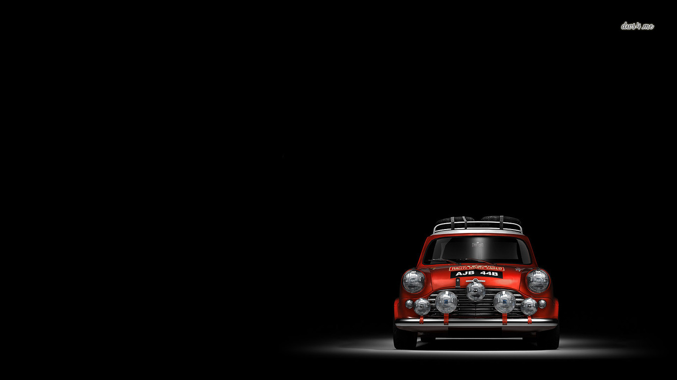 Pics Photos   White Mini Cooper Wallpaper Hd Background Jpg 1366x768