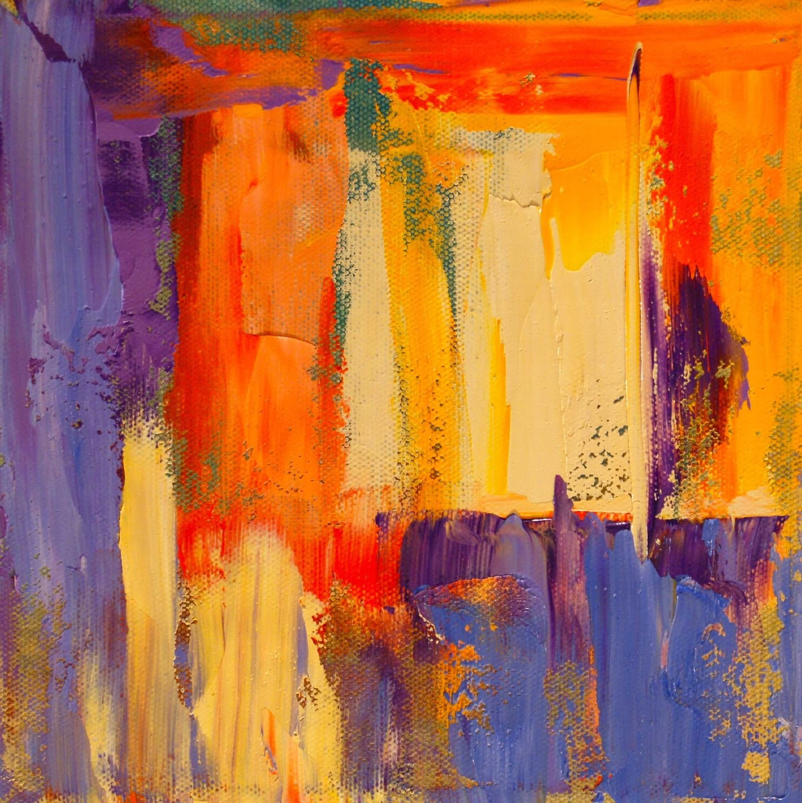 Free Download Paintings By Theresa Paden Abstract Oil