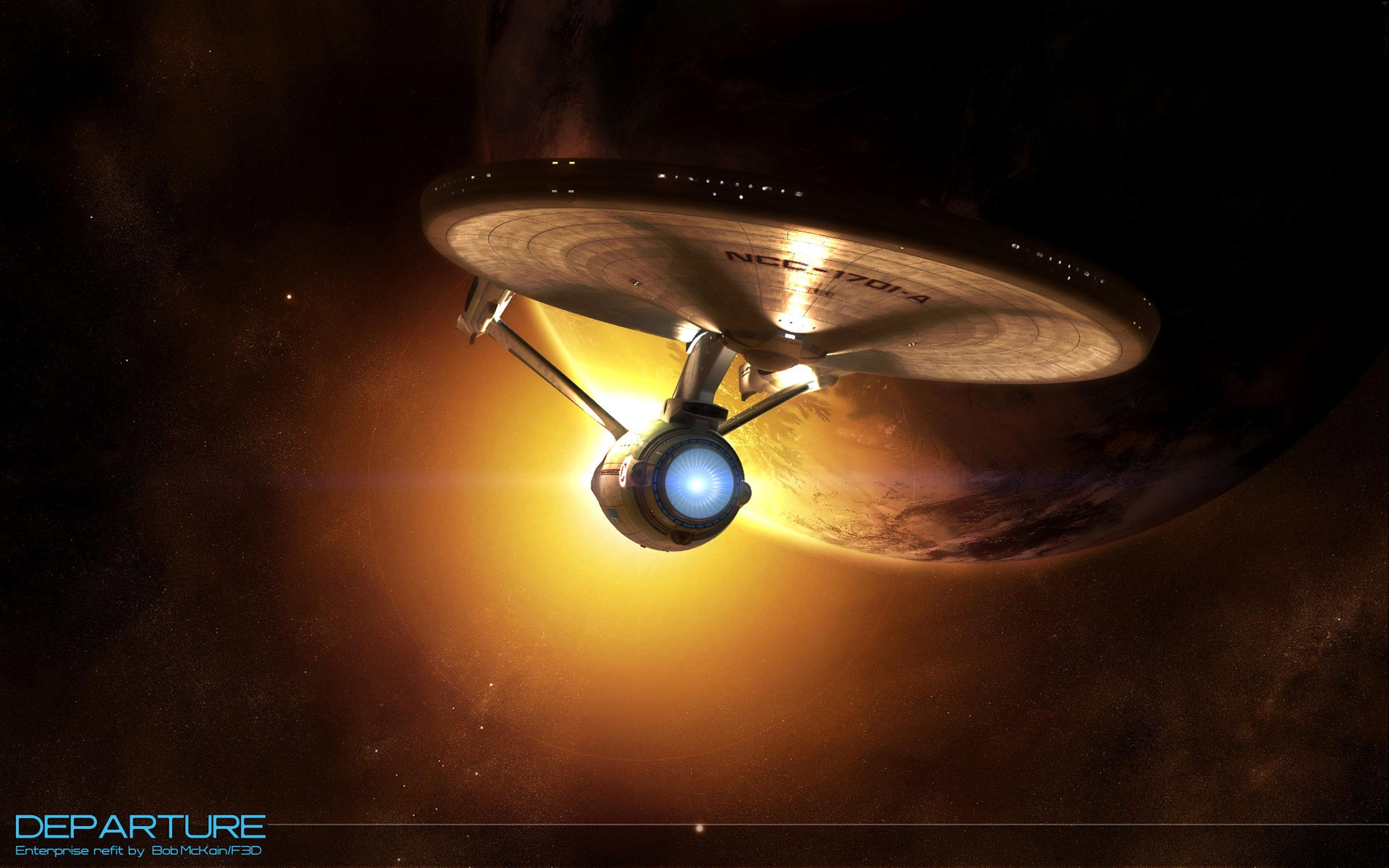 Star Trek Departure   Star Trek computer desktop wallpaper 2560x1600