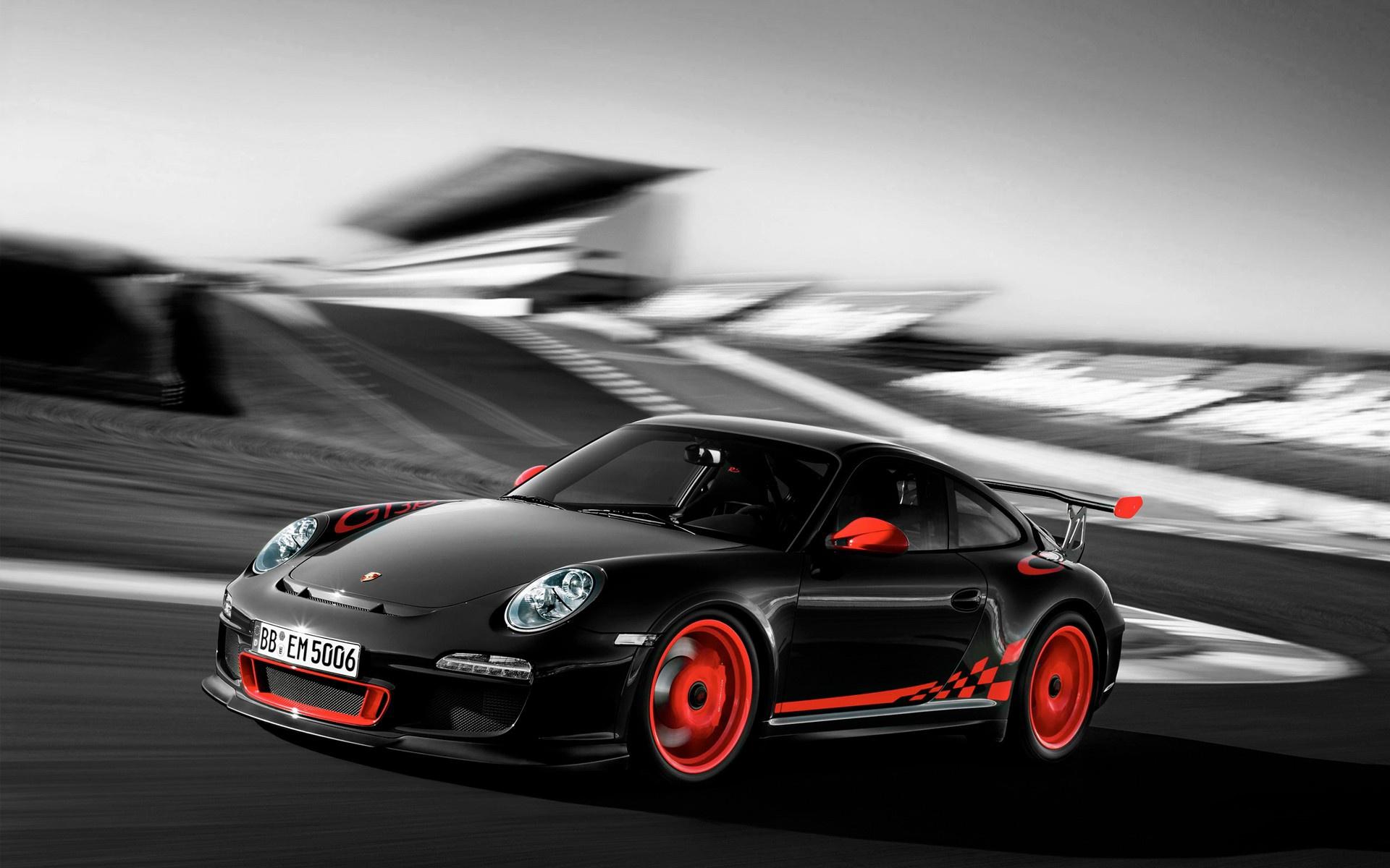 25 Porsche Gt3 Rs Black And Orange Wallpaper On Wallpapersafari