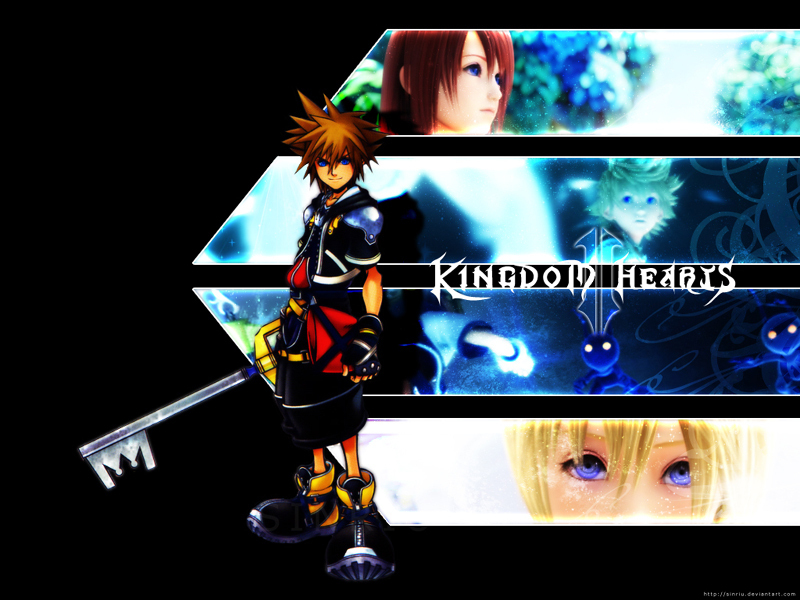 Kingdom Hearts KH II 800x600